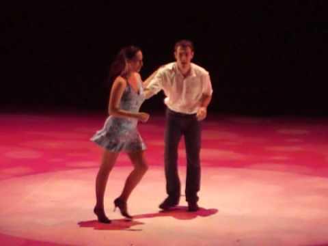Démonstration de Salsa Cubaine des Piments (Claire et Paul) à Odyssud Blagnac