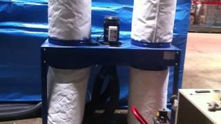 видео пылеулавливающий агрегат