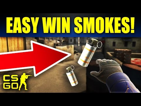 10 Easy CS:GO Smokes That Will Win You Every Game
