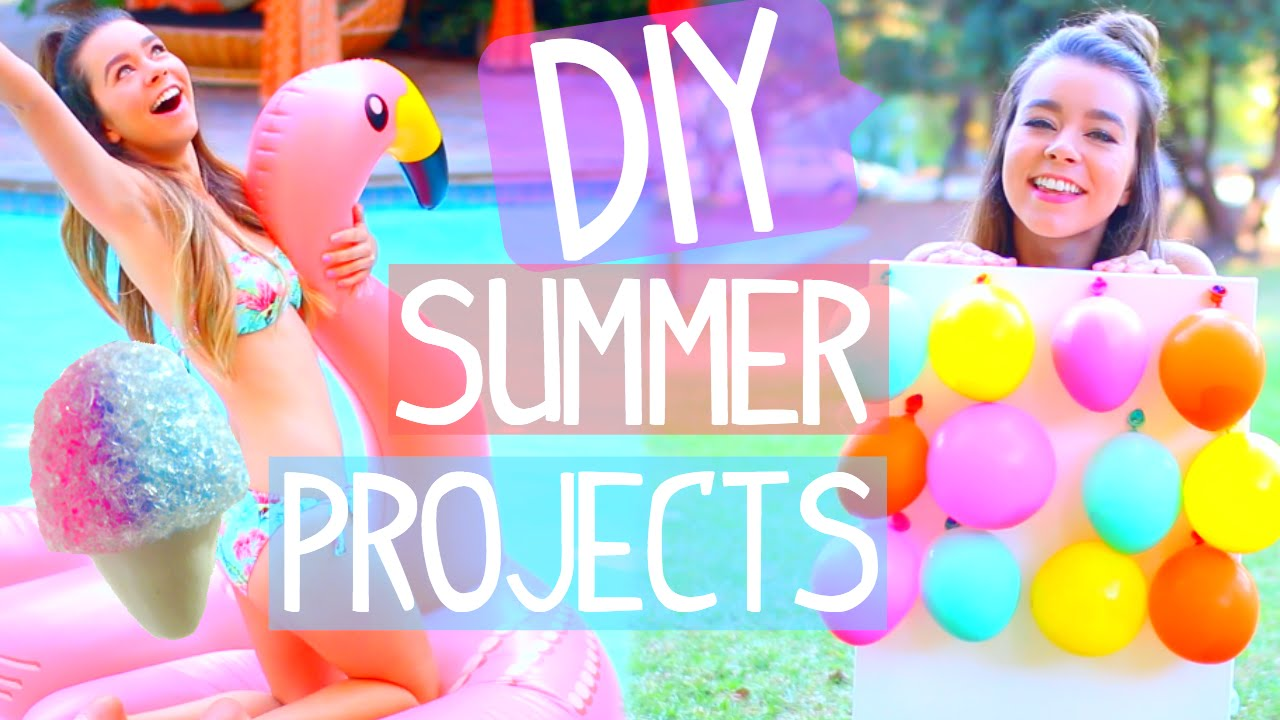 Diy Summer Projects Room Decor Activities Food More