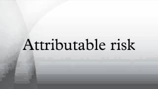 Video Attributable risk download MP3, 3GP, MP4, WEBM, AVI, FLV November 2017