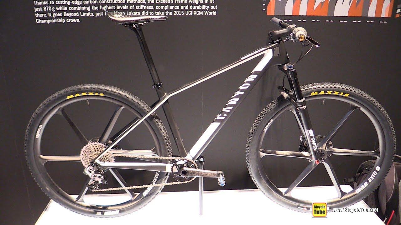 2016 Canyon Axceed Cf Slx Mountain Bike Walkaround