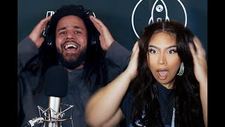 J. COLE'S FREESTYLE KNOCKS MY EARRING OUT - L.A. Leakers freestyle REACTION (Sorry headphone users)