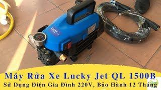 Máy Rửa Xe Áp Lực Cao Lucky Jet QL 1500B
