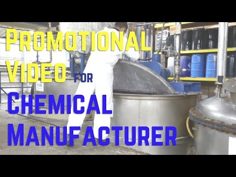 Promotional Video for Chemical Manufacturer | Corporate Video Production Company Reading Berkshire