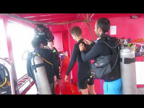 Мои первые погружения в Тае - My first diving in Thai
