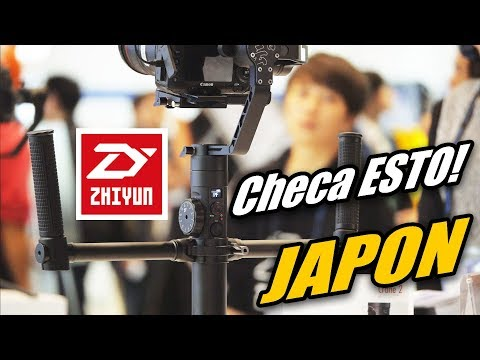 Estabilizadores |  Zhiyun Crane EVENT Inter BEE 2017 JAPON [By JAPANISTECH]
