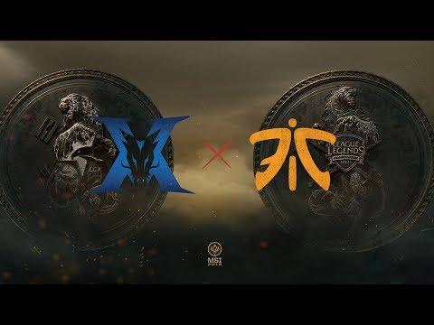 KING-ZONE DragonX vs Fnatic  vod