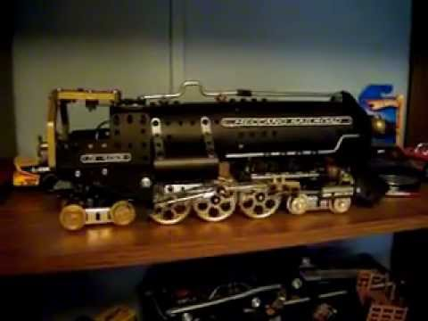 erector meccano locomotive  j3a hudson