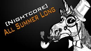 [Nightcore] All Summer Long