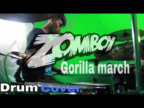Zomboy - Gorilla March (Drum Cover)