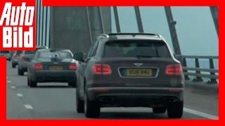 Video: Bentley Bentayga - Tour Etappe 6 - Videotagebuch /Test / Drive / Review