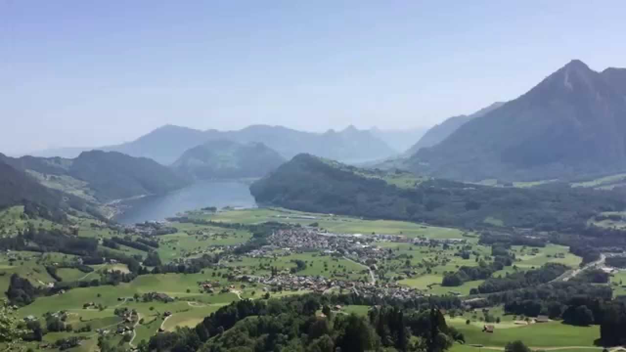 Aussichtspunkt In Alpnach Schweiz Viewpoint In Alpnach