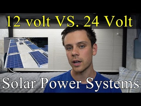 12-volts-vs.-24-volts-for-off-grid-solar-power-systems