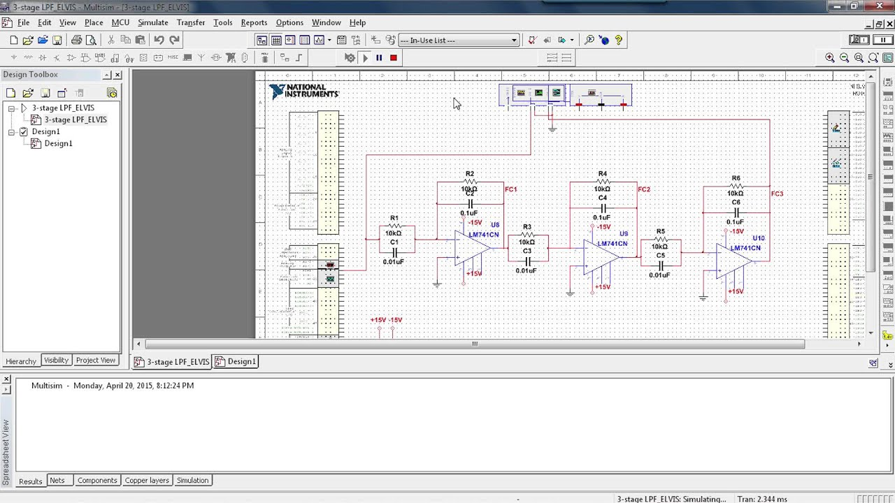 Teach Cutoff Frequency And Active Low Pass Filtering In Analog Problem With Simulating A Circuit Proteus 4040 Circuits