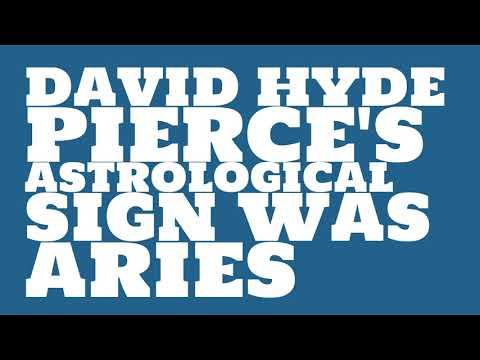 What was David Hyde Pierce's birthday?