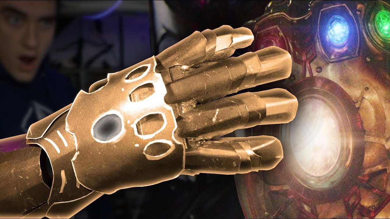 make an infinity gauntlet full metal avengers infinity war part