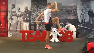 Facebook Live HIIT workout with Leon Taylor | I Am Team GB