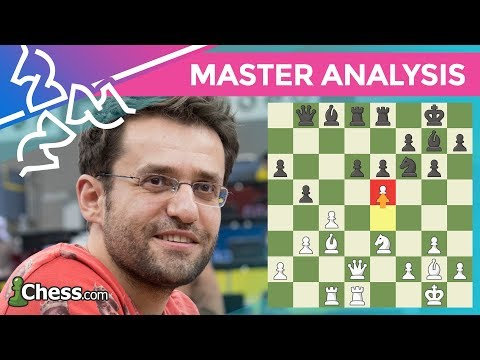 Levon Aronian Analyzes His Opening Win: 2018 Chess.com Isle of Man International