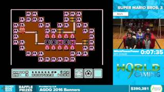 Super Mario Bros 3 by mitchflowerpower in 11:49 - Awesome Games Done Quick 2016 - Part 83