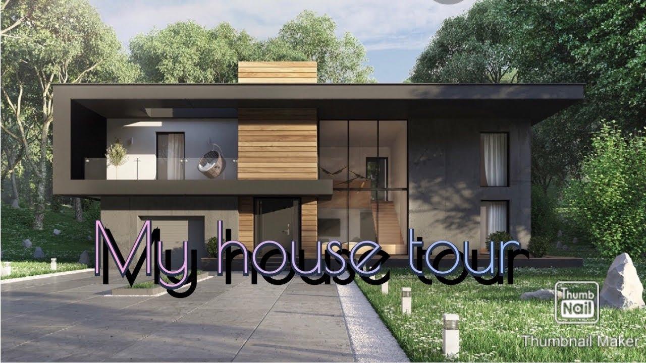 Bloxburg Modern House Tour!! - YouTube