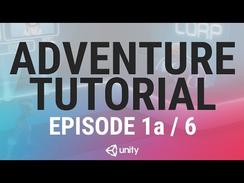 Adventure Game Unity Tutorial - Phase 1a of 6 - The Player
