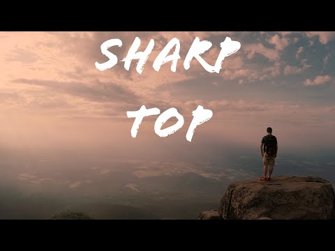 Early Morning Hike to the Summit of Sharp Top Mountain, VA in 4K