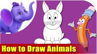 Learn How to Draw Cartoon Animals - The Fun and Easy way!
