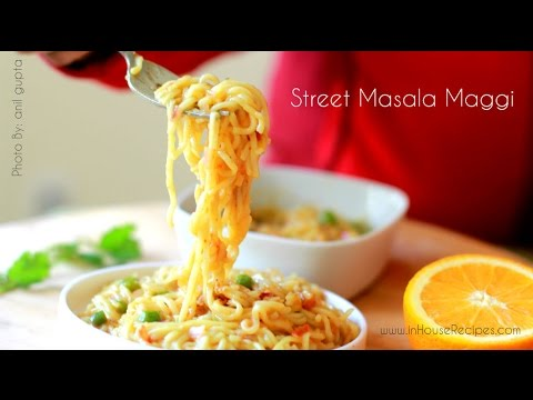 Street masala maggi - Hindi with English subtitles मसाला मैगी