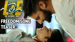 #lie movie freedom song teaser - nithiin, arjun, megha akash | hanu raghavapudi