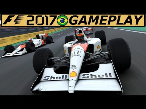McLaren MP4/6 in Interlagos – F1 2017 Gameplay German | Lets Play Formel 1 2017 Classic Deutsch 4K