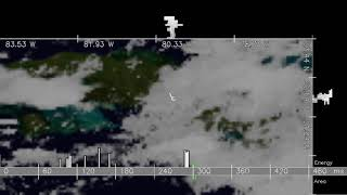 Top propagating elongated Americas lightning flash observed by the ISS for 05/18/2019