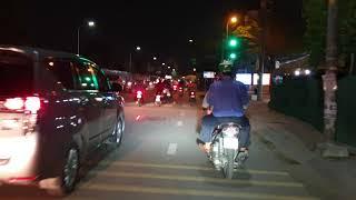 Đèn led Kenzo V8S chạy ngoài đường sẽ ntn