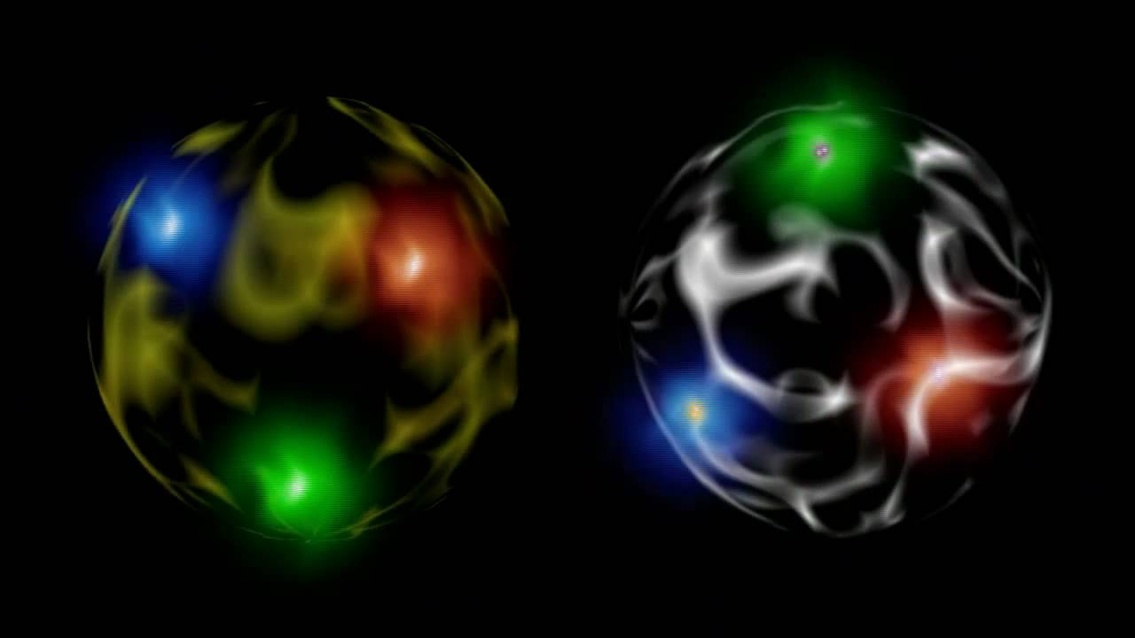 electrons protons and neutrons standard model of particle physics