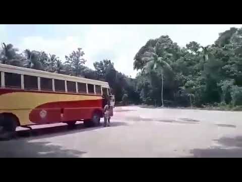 lady driver in ksrtc