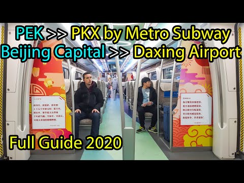 Download Beijing Capital Airport to Daxing Airport by Train 2020