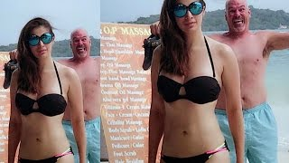 Photobomb by Raai Laxmi in Internet Video