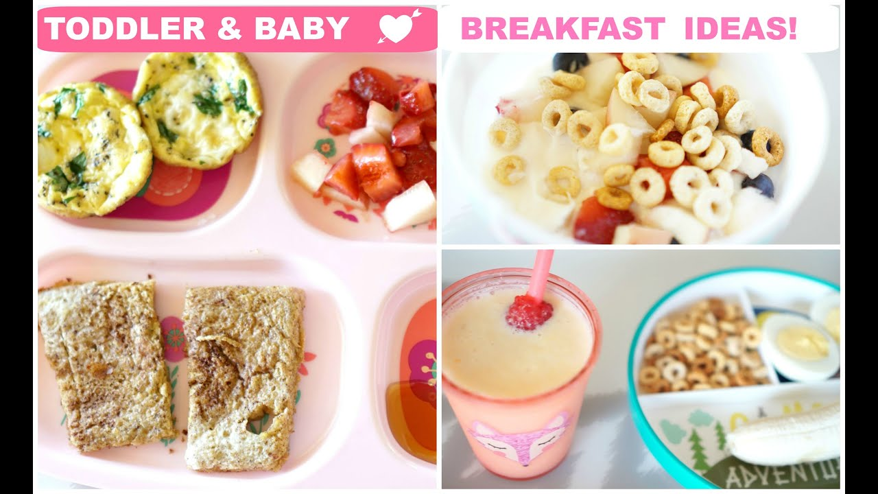 Breakfast ideas for toddler baby youtube breakfast ideas for toddler baby forumfinder Gallery