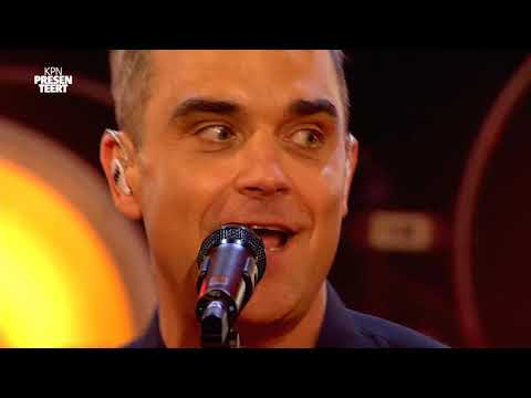Robbie Williams - Love My Life live @Amsterdam Qube Soundcheckers