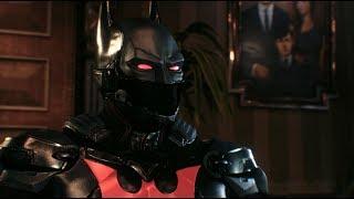 Batman: Arkham Knight (PC)(Batman Beyond Walkthrough)[Part 16] - A Friend In Need [1080p60fps]