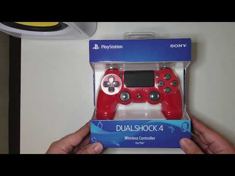 ps4-v2-red-controller-unboxing