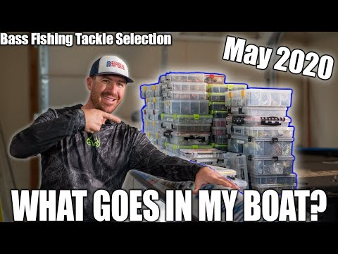 Choosing What Tackle To Fish With (May 2020 Bass Boat Prep)