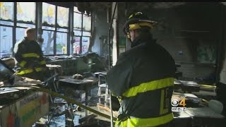 Students Safe After Fire In Lawrence School
