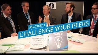 Challenge your Peers by we.CONECT Global Leaders (Multi-touchpoint Concept)