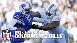 Dolphins vs. Bills | Week 9 Highlights | NFL