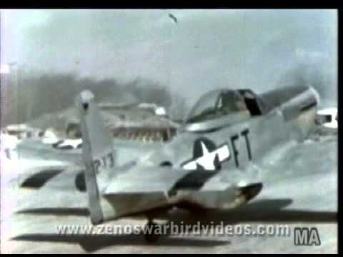 """354th Fighter Group P-51 """"Mustang Pioneers"""" Color Scrapbook - 1945"""