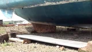 Centre Board removal on an Ocean Bird Trimaran