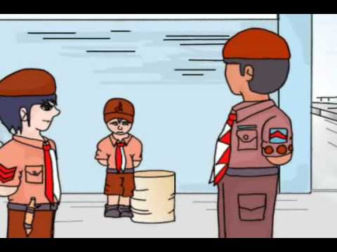 Unduh 47 Gambar Animasi Lucu Pramuka Terlucu
