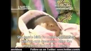 SCOAN 23/03/14: Miraculous Birth Of A Baby At SCOAN Testimony, Emmanuel TV