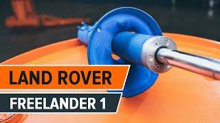Regardez le vidéo manuel sur la façon de remplacer LAND ROVER FREELANDER (LN) Filtre à Air